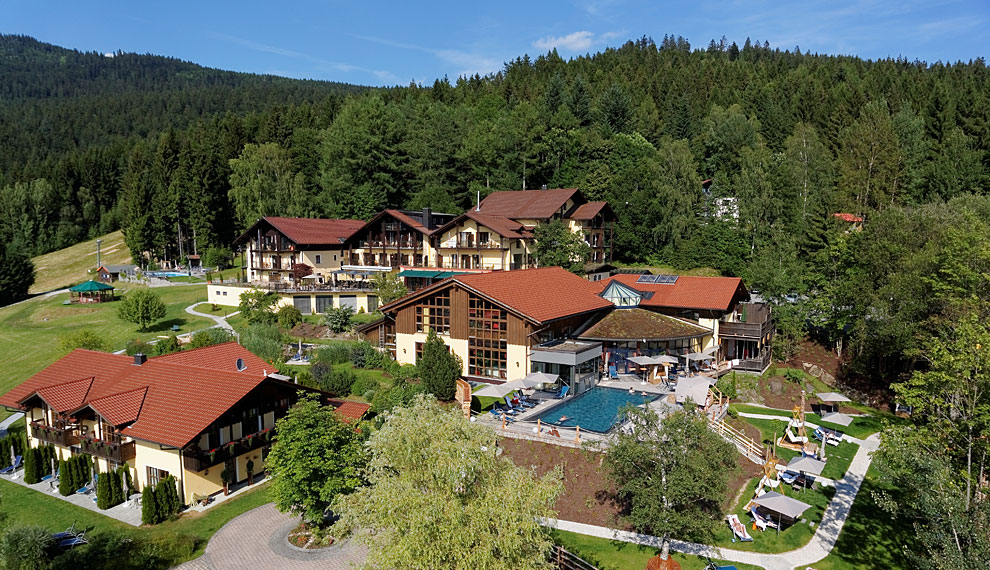 Spa hotel Riedlberg in Bavaria