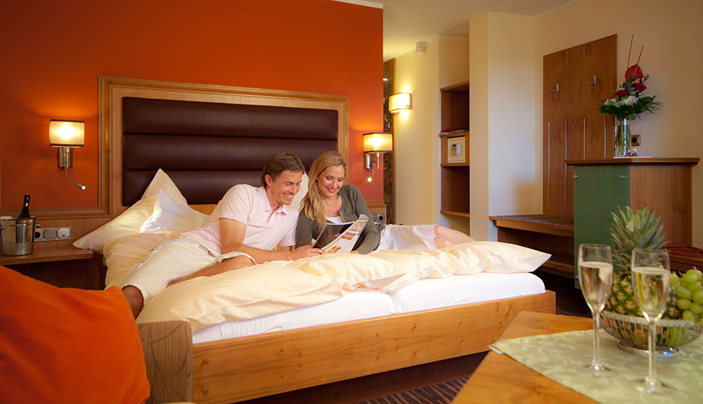 Cozy rooms and suites in the Hotel Riedlberg